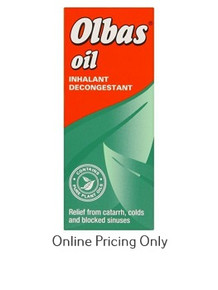 OLBAS INHALANT OIL 15ml