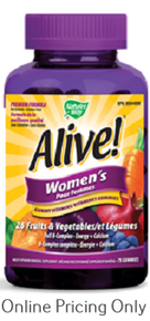 NATURE`S WAY ALIVE GUMMIES FOR WOMEN 75s
