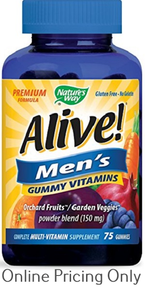 NATURE`S WAY ALIVE GUMMIES FOR MEN 75s