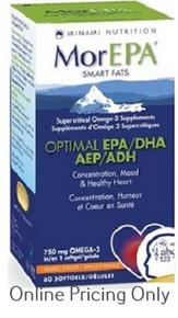 MINAMI NUTRITION MOR EPA OPTIMLA EPA/DHA 60sg