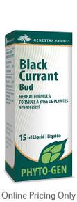GENESTRA BRANDS BLACK CURRANT BUD 15ml