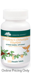 GENESTRA BRANDS CHILDRENS CHEWABLE VITAMIN 100tabs