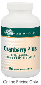 GENESTRA BRANDS CRANBERRY PLUS 90vcaps