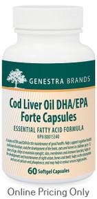 GENESTRA BRANDS COD LIVER OIL DHA/EPA 60caps