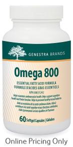 GENESTRA BRANDS OMEGA 800 EFA 60sg