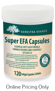 GENESTRA BRANDS SUPER EFA 120caps