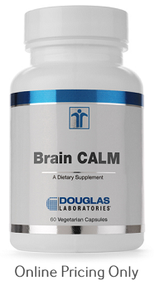 DOUGLAS LABORATORIES BRAIN CALM 60vcaps