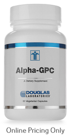 DOUGLAS LABORATORIES ALPHA GPC 60vcaps