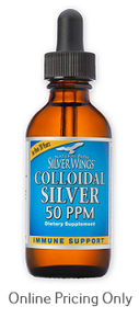 NATURAL PATH SILVER WINGS COLLOIDAL SILVER 50PPM 120ml