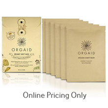Orgaid Greek Yogurt Sheet Mask 6pack