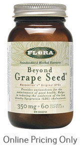 FLORA BEYOND GRAPE SEED 60vcaps