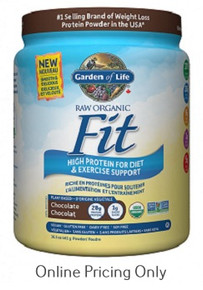GARDEN OF LIFE ORANIC RAW FIT CHOCOLATE 457g