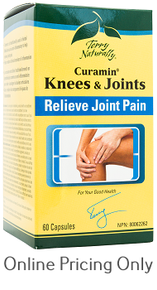 TERRY NATURALLY CURAMIN KNEE AND JOINTS 60caps