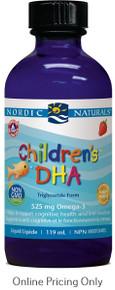 NORDIC NATURALS CHLDRN DHA STRAWBERRY 118ml
