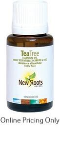 NEW ROOTS TEA TREE ESSENTIAL OIL 50ml
