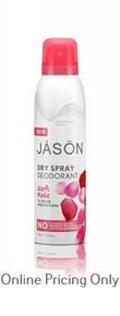 JASON DRY SPRAY DEODORANT SOFT ROSE 113ml
