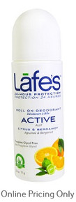 LAFE'S DEODORANT ROLL ON ACTIVE 71g