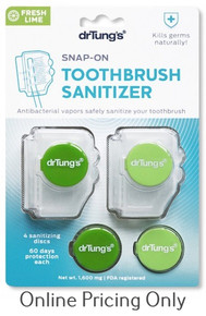 DR. TUNG`S TOOTHBRUSH SANITIZER