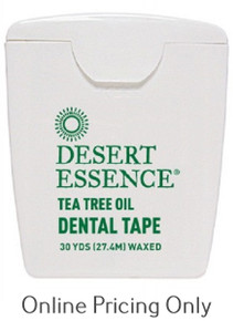 DESERT ESSENCE TEA TREE DENTAL TAPE 30yds