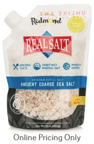 REDMOND REAL SALT COARSE GRIND 454g