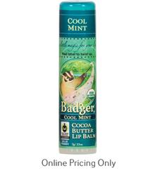 Badger Cool Mint Lip Balm 7g