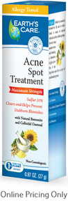 EARTH`S CARE ACNE SPOT TREATMENT 27g