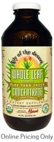 Lily of the Desert Aloe Vera Whole Leaf Juice 473ml
