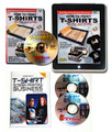 How To Print T-Shirts eBook DVD and Starting a Garment Screen Printing Business Bundle $59.90 Value!