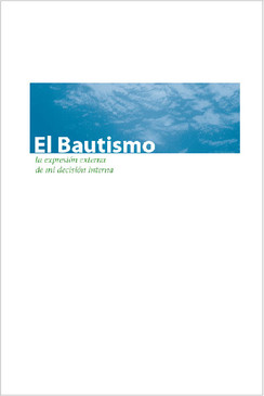 Baptism Brochure Bifold (Spanish)—Pack of 100