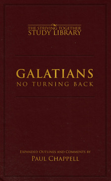 Galatians Expanded Outlines: No Turning Back