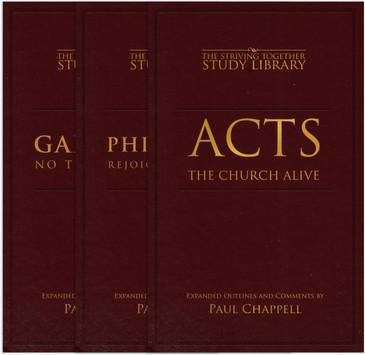 Galatians, Acts & Philippians Bundle