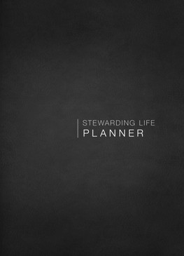 Stewarding Life Planner