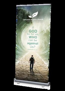 Scripture Banner 1 3'x6.5'