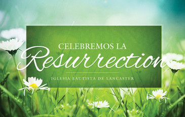 Celebremos la Resurrection 3.5x5.5