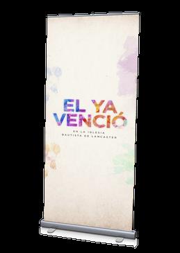 El Ya Vencio Bandera 3'x6.5'