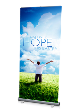 Discover Hope Banner 3'x6.5'