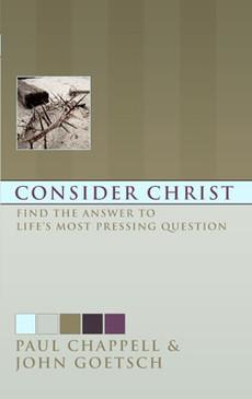 Consider Christ