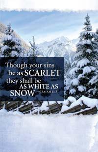 Bulletin—Isaiah 1:18