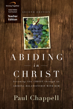 Abiding in Christ Teacher Edition (Second Edition)
