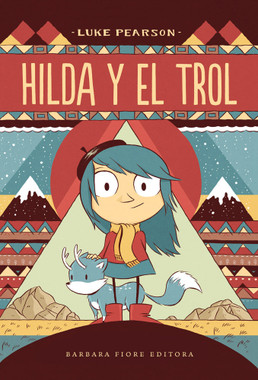 Meet Hilda. She can never sit still for long without setting off on another adventure.  Join her in discovering a magical new universe!  While on an expedition to seek out the magical creatures of the mountains around her home, Hilda spots a mountain troll. As she draws it the blue-haired explorer starts to nod off… when she wakes, she finds herself lost in a snowstorm and her troll has totally disappeared. On her way home, Hilda ventures deep into the woods, befriends a lonely wooden man and narrowly avoids getting squashed by a lost giant.