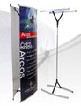 Dual Arcos Telescopic Banner Stand