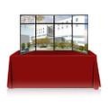Primevue 8ft. Table Top Panel Display w/ Header