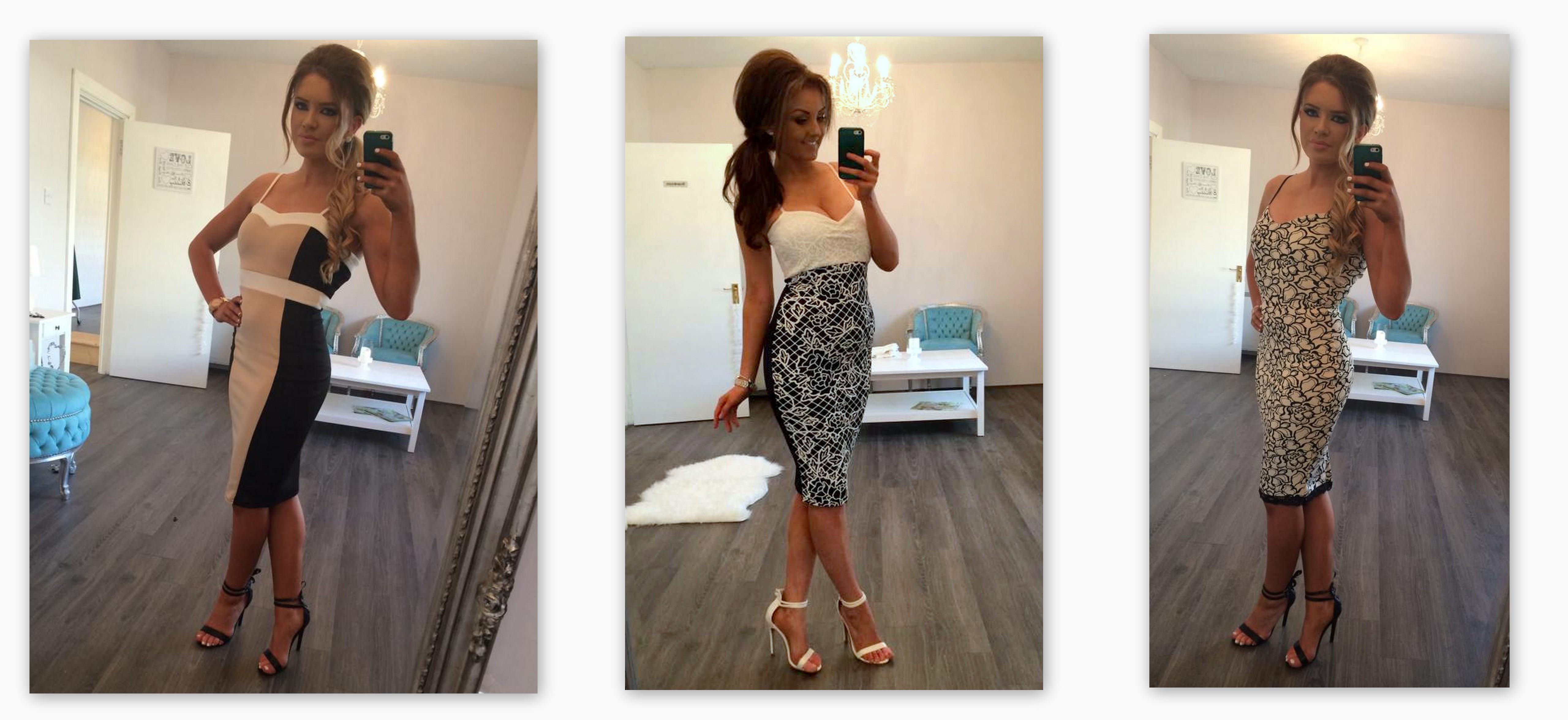 New Arrivals 2015 Cami Midi Dresses