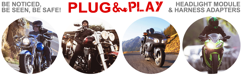 4 headlights?t=1398952957 plug & play™ headlight module single h4 harness adapter signal  at aneh.co