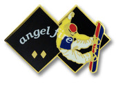 Angel Fire Black Diamond Ski Resort Pin