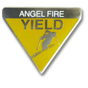 Angel Fire Yield Ski Resort Pin