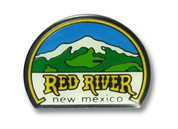 Red River Mountain Ski Resort Pin