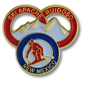 Ski Apache Three Rings Ski Resort Pin