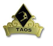 Taos Black Diamond Ski Resort Pin #1