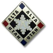 Alta Diamond Ski Resort Pin